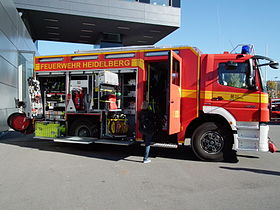 Fire fighting vehicle 24