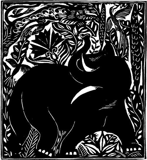 L'Éléphant (Apollinaire - Le Bestiaire, ou Cortège d'Orphée).jpg