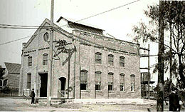 The LARy's Soto Street sub station, c. 1913.