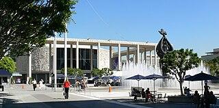 Mark Taper Forum theatre in Los Angeles, California, United States, part of Los Angeles Music Center