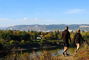 Prince George, British Columbia - City View From LC Gunn Park