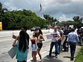 LGBT Activists in Doral Protest U.S. Sen. Marco Rubio After Gay Couples Left Out of Immigration Plan 3 (8794744807).jpg