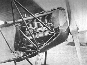 Liberty L-6 - Fokker D.VII with Liberty L-6 engine fitted for trials