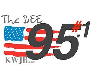 KWJB - Image: LOGO 95.1 THE BEE FLAG