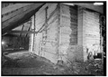 LOG FACADE, LOOKING NORTH - Tobacco Barn, Latta, Dillon County, SC HABS SC,17-LAT.V,2-3.tif