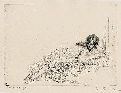 La-Liseuse-The-Reader-by-Auguste-Brouet