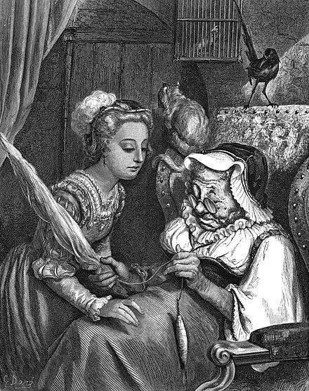 Littérature de jeunesse en anglais  Walter Crane, La  ~ La Belle Au Bois Dormant Anglais