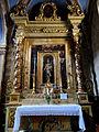 La Brigue - Collégiale Saint-Martin - Retable de la chapelle de la Vierge du Rosaire -1.JPG