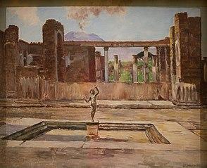 La maison du Faune à Pompéi
