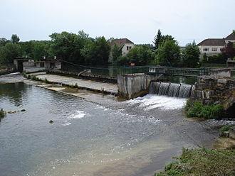 Aube - The Seine at Bar-sur-Seine
