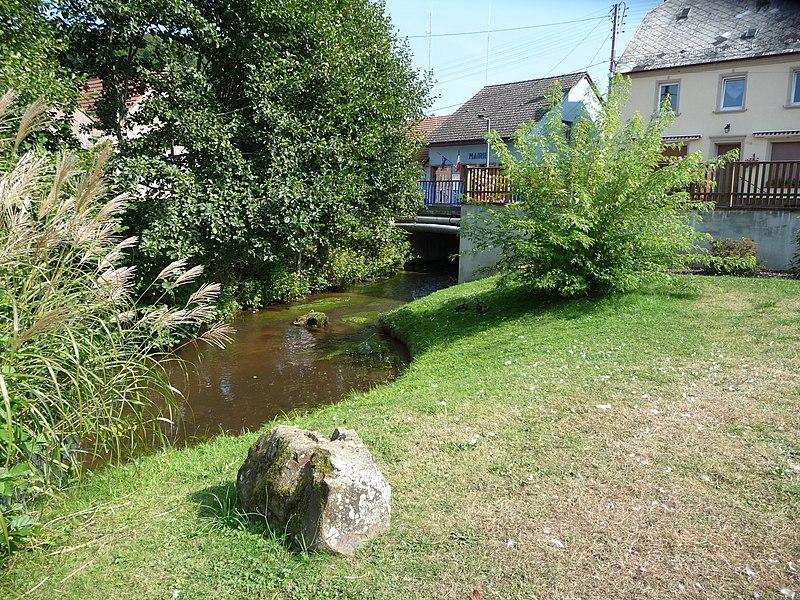 La ruisseau de Walschbronn