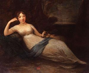 Lady Caroline Lamb - Lady Caroline Lamb by Eliza H. Trotter, 1810s