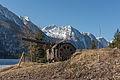 Lago del Predil Geschuetz mit Monte Canin 10032015 0503.jpg