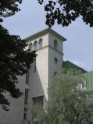 Lahden Kansanopiston torni