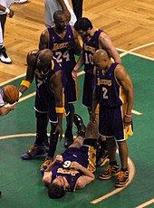 7cb6f9a3533 Bryant s Lakers lost to the Boston Celtics in six games during the 2008 NBA  Finals