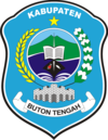 Official seal of Central Buton Regency