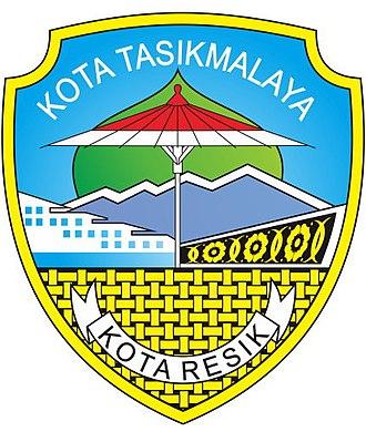 Tasikmalaya - Image: Lambang Kota Tasikmalaya