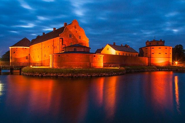 Die Zitadelle von Landskrona