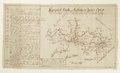 Landsvägskarta över Värmland och Närke, med norra Vänern, från 1700-1750 - Skoklosters slott - 97969.tif