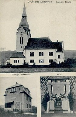 Lanov Evangelicky kostel 1910.jpg