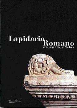 Lapidario Romano dei Musei Civici di Modena (copertina).jpg