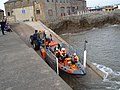 Launching Porthcawl lifeboat - geograph.org.uk - 440471.jpg