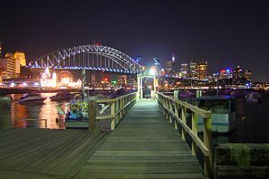 Lavender Bay, New South Wales - Lavender Bay Wharf
