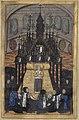 Le corps d'Anne de Bretagne repose dans la chapelle ardente à Notre-Dame de Paris.jpg