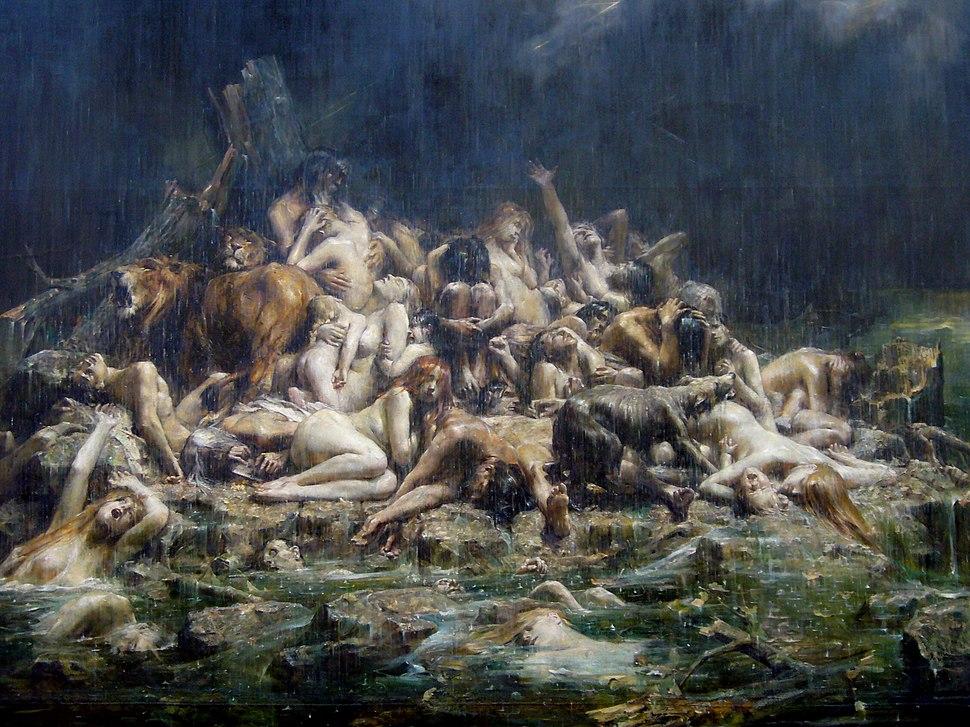 Le déluge - musée de beaux arts de Nantes 20091017