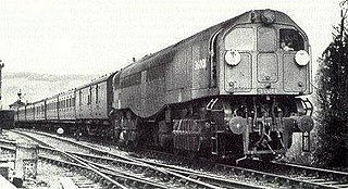 SR Leader class Prototype dual cab steam locomotive
