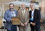 """Leal, Giles y Memolli en la inauguración de """"Argentina en Antártida"""" en el Museo Malvinas (21742605096).jpg"""