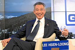 File photo of Lee Hsien Loong in 2012. Image: World Economic Forum.