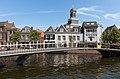 Leiden, de Waaghoofdbrug met de toren van de Hartebrugkerk RM24717 foto5 2017-06-11 11.54.jpg