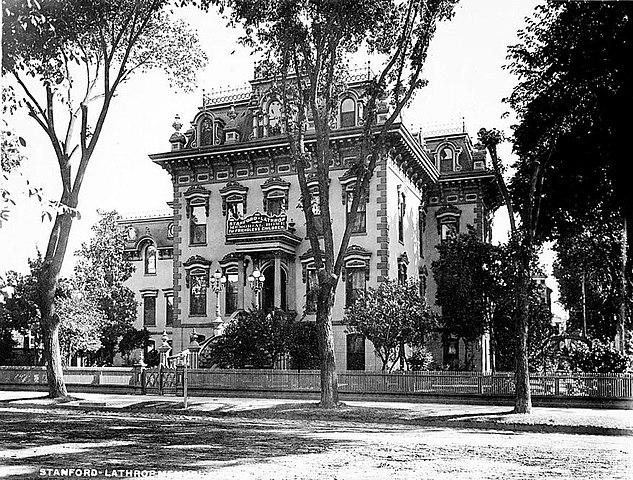File leland stanford house sacramento ca jpg wikipedia for Leland house