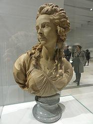 Augustin Pajou: Français: Le Peintre Élisabeth Vigée-Lebrun (1755-1842)