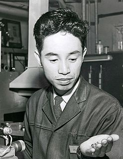 Leo Esaki Japanese physicist