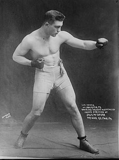 Leo Florian Hauck American boxer
