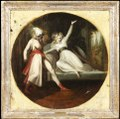 Leonore upptäcker Alonzos dolk (Johann Heinrich Füssli) - Nationalmuseum - 181034.tif