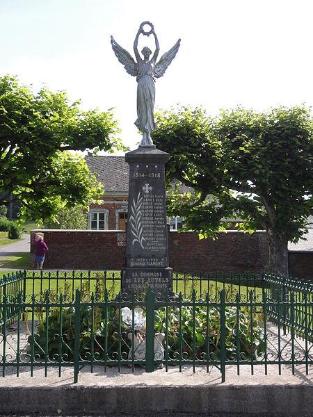Les Autels (Aisne) monument aux morts