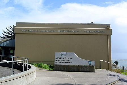 Lewis and Clark Interpretive Center Cape Disappointment