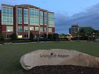 Lexington, South Carolina - Image: Lexington, SC Square
