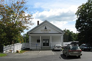 Leyden, Massachusetts - Leyden Town Hall