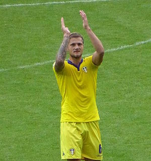 Liam Cooper - Cooper with Leeds United in 2015
