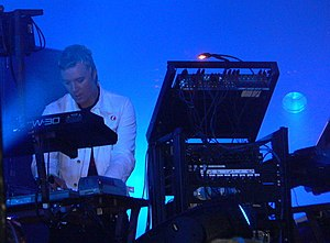 The Prodigy - The Prodigy band member and founder Liam Howlett live in August 2005.