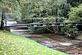 Lichtental (Baden Baden), bridge over the Oos river.JPG