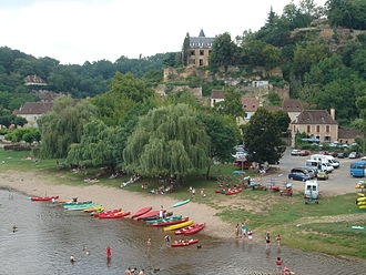 Limeuil (prehistoric site) - The old village center of Limeuil