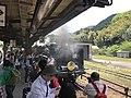 "Limited Express ""SL Yamaguchi"" at Tsuwano Station 2.jpg"
