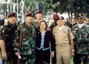 Linda Sánchez - Congresswoman Sanchez participates in Long Beach's Veterans Day celebration.