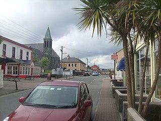 Lisdoonvarna Town in Munster, Ireland