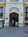 Listed residential building with shops, portal. - 1 Kossuth Lajos St., Veszprém Belváros, 2016 Hungary.jpg